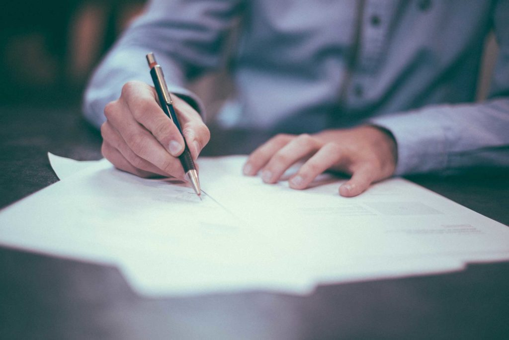 Signing Documents using a Power of Attorney